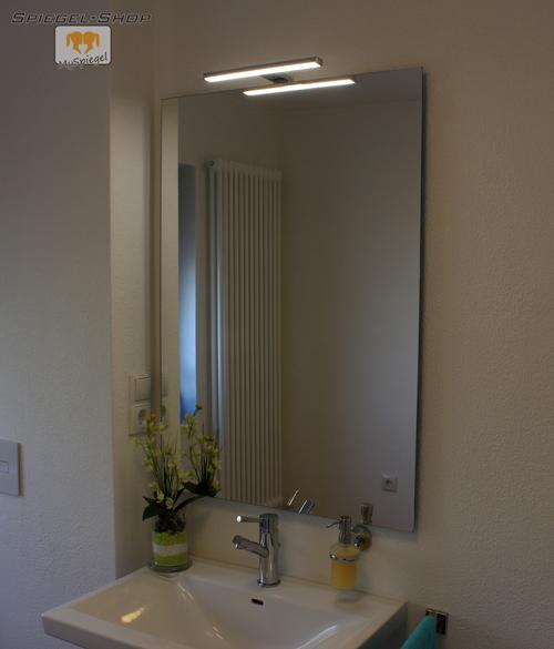 joana led leucht lampe beleuchteter spiegel mit steilfacette 180x80cm 3 lampen ebay. Black Bedroom Furniture Sets. Home Design Ideas
