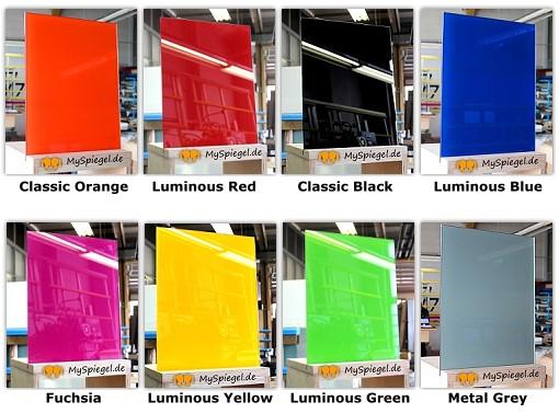 einseitig lackiertes farbiges glas fÜr kÜche & bad | ebay