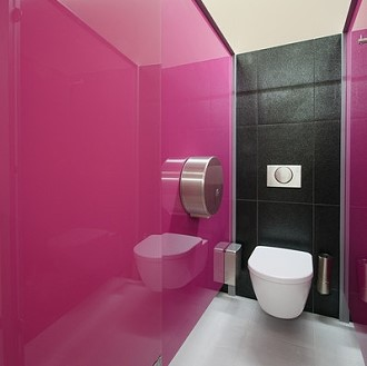 lacobel fuchsia einseitig lila pink lackiertes glas 6mm f r k che bad ebay. Black Bedroom Furniture Sets. Home Design Ideas