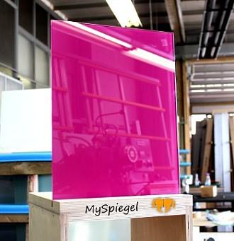 lacobel fuchsia - einseitig lila / pink lackiertes glas 4mm fÜr ... - Lackiertes Glas Küchenrückwand
