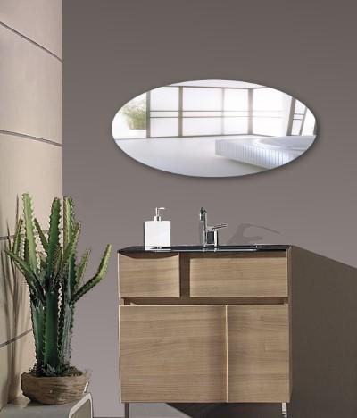ovaler kristallspiegel wandspiegel ovalspiegel neu ebay. Black Bedroom Furniture Sets. Home Design Ideas
