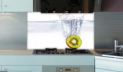 k chenr ckwand splash kiwi plexiglas fliesenspiegel spritzschutz k che ebay. Black Bedroom Furniture Sets. Home Design Ideas