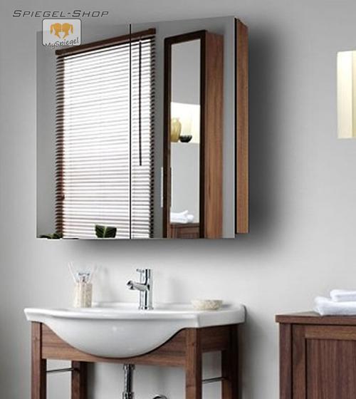 spiegelschrank panorama ii 120 x 80 cm mit dekorauswahl ebay. Black Bedroom Furniture Sets. Home Design Ideas