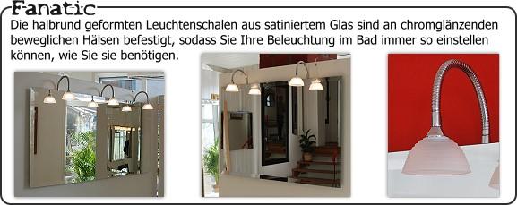Fanatic badezimmerspiegel for Spiegel konfigurieren