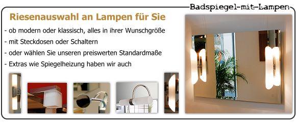 badspiegel f r badezimmer nach ma online kaufen. Black Bedroom Furniture Sets. Home Design Ideas