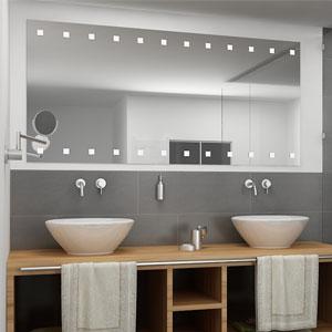 Wandspiegel online kaufen im glas und spiegel nach ma for Badezimmerspiegel modern