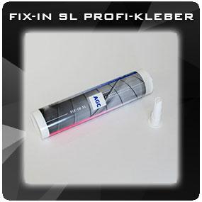 FIX-IN SL PROFI-KLEBER Für Lacobel, Lackiertes Glas, Spiegel