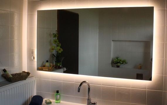 wandspiegel badspiegel spiegelglas spiegel nach ma. Black Bedroom Furniture Sets. Home Design Ideas