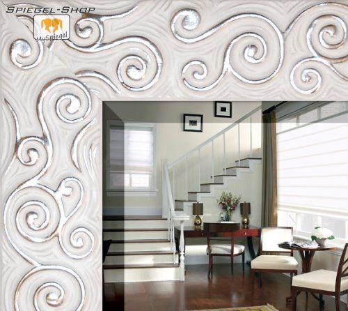 spiegel silber modern oder horizontal montiert werden spiegel silber metallisch modern inserat. Black Bedroom Furniture Sets. Home Design Ideas