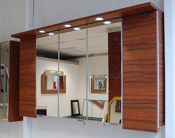 Spiegelschrank bad holz  Holz Spiegelschrank: Badezimmer spiegelschrank mit innenspiegel ...