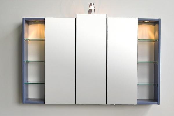 spiegelschrank skyline mit farb und gr en auswahl. Black Bedroom Furniture Sets. Home Design Ideas