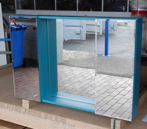 Spiegelschrank Mirror in Türkis