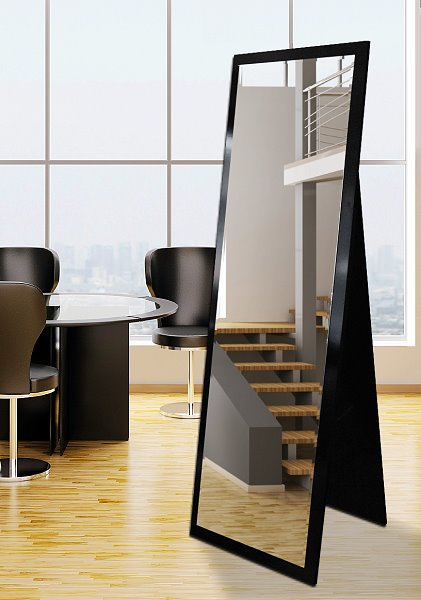 Standspiegel estato auf holzr ckwand 60 x 180 cm online kaufen for Spiegel 60x180